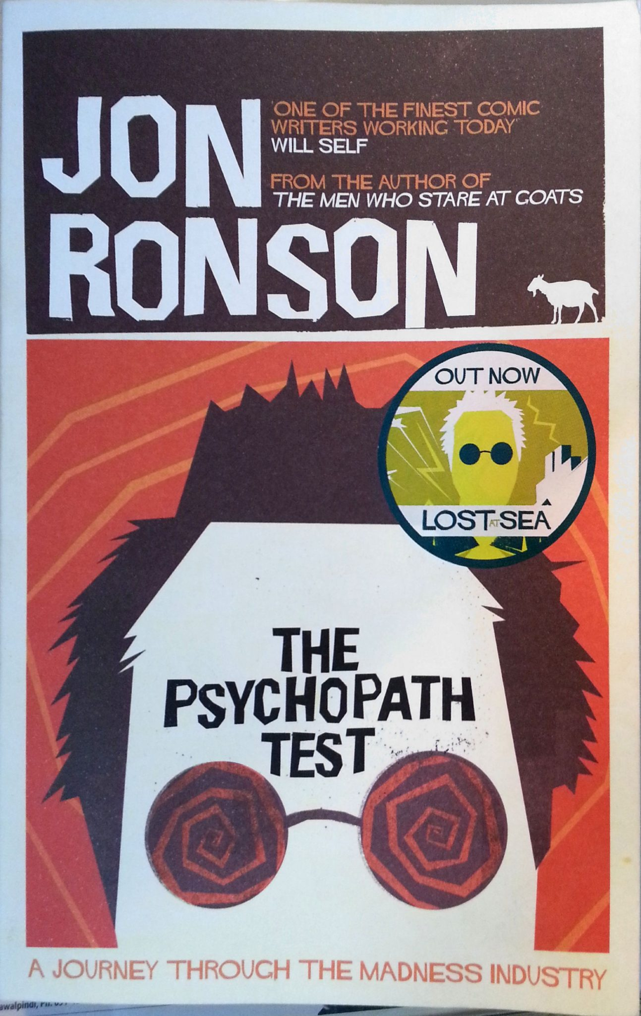 The Psychopath Test – A Journey through the Madness Industry