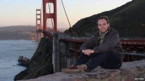 Andreas Lubitz, 28, seen here on his Facebook profile, is said to have been happy with his job (Reuters)